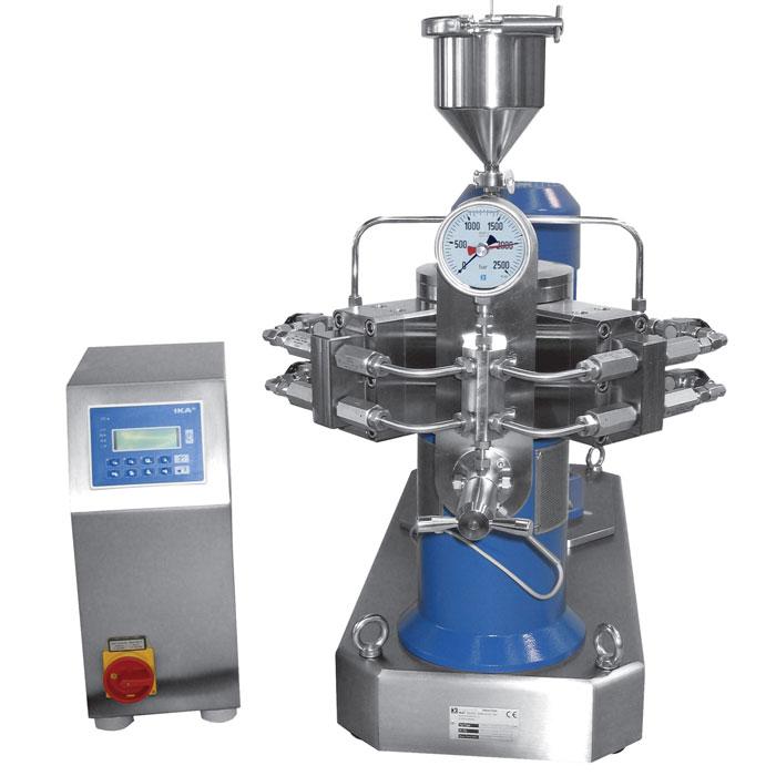 HPH - High press  homogenizer,